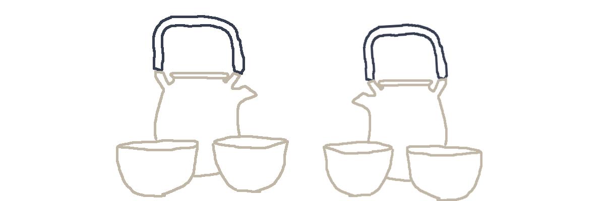 service à thé théière céramique en grès émaillée tasse bol à thé
