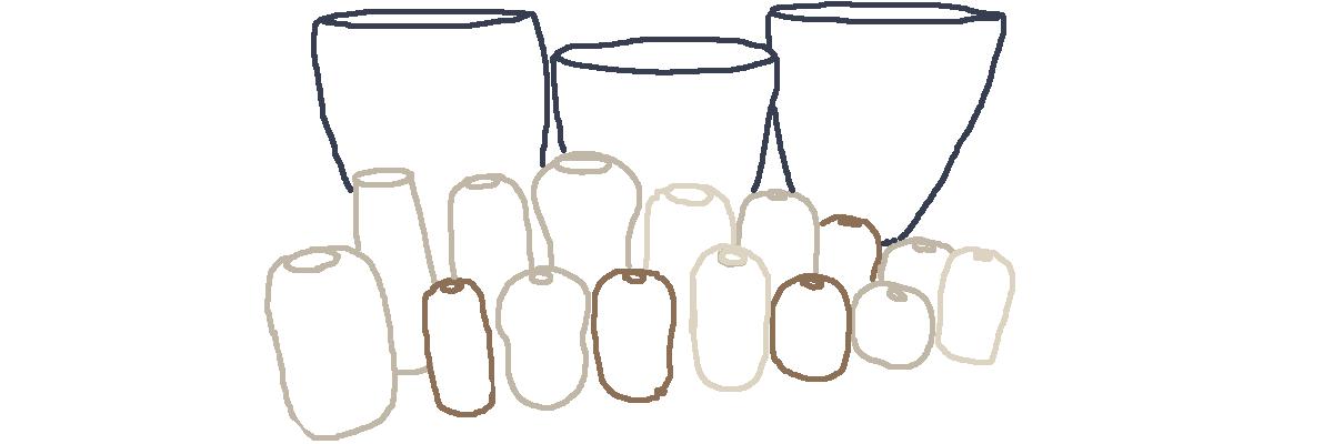 céramique fait main vases au tour de potier atelier de potier
