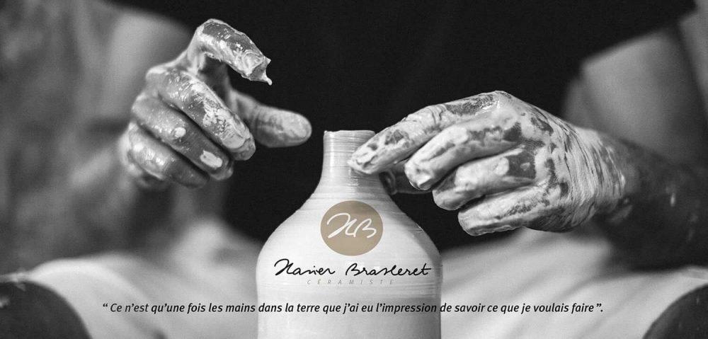 atelier d'art de France cours de poterie céramique tournage tour de potier