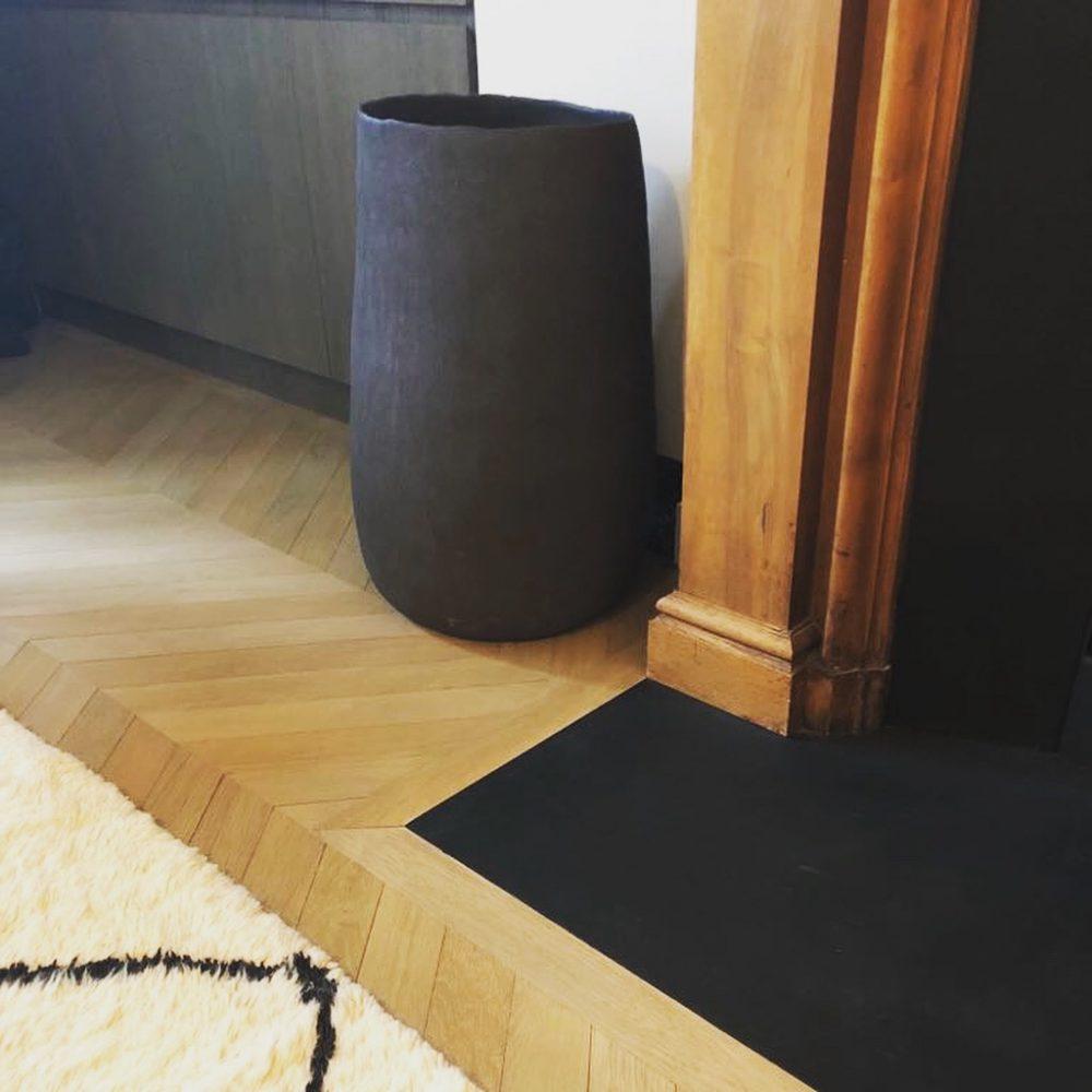 vase cocoon déco intérieur design céramique