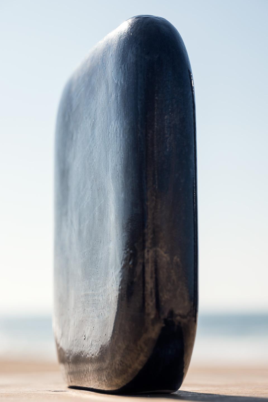 Vase céramique grès galet design créateur argile déco contemporain
