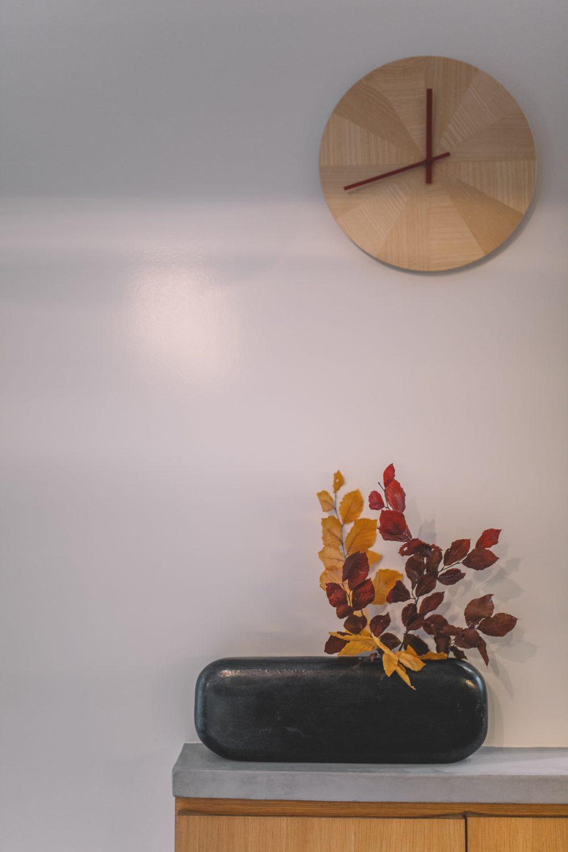 vase galet vase noir contemporain design